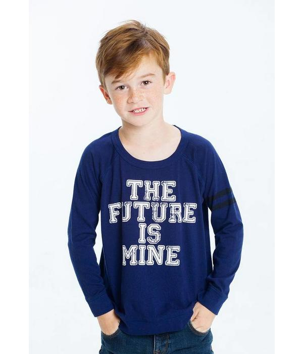 CHASER PRESCHOOL BOYS THE FUTURE IS MINE L/S TEE