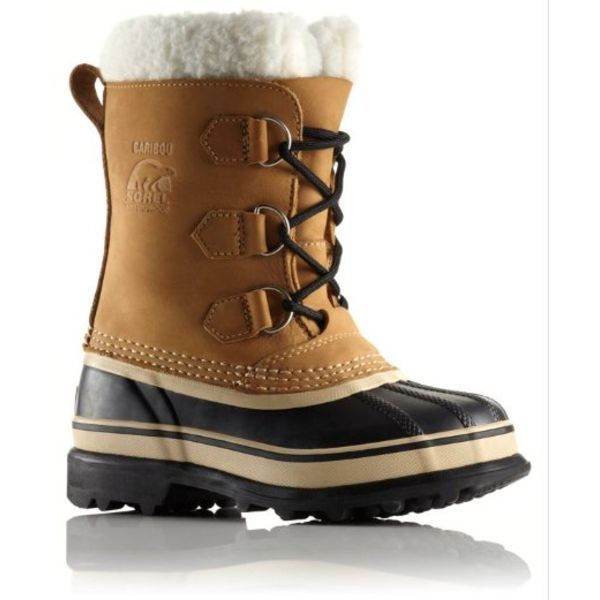 YOUTH CARIBOU BOOT - BUFF