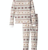 PJ SALVAGE JUNIOR FAIR ISLE JAMMIE SET