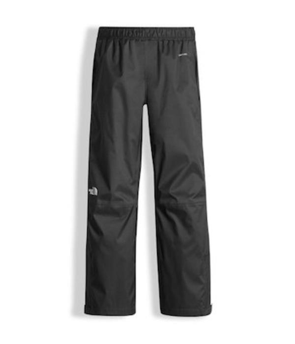 THE NORTH FACE YOUTH RESOLVE PANT - BLACK WITH REFLECTIVE - SIZE LARGE 14/16 ONLY