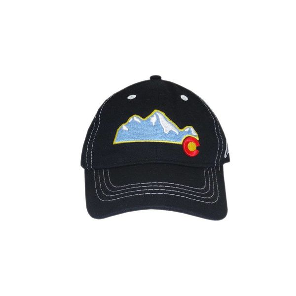 YOUTH COLORADO MOUNTAIN HAT - BLACK