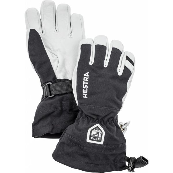 HELI JR SKI GLOVE - BLACK