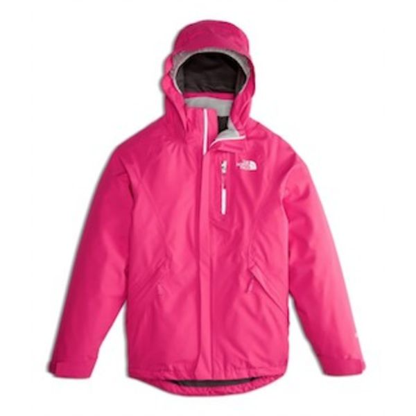 JUNIOR GIRLS DRYZZLE GTX JACKET - PETTICOAT PINK