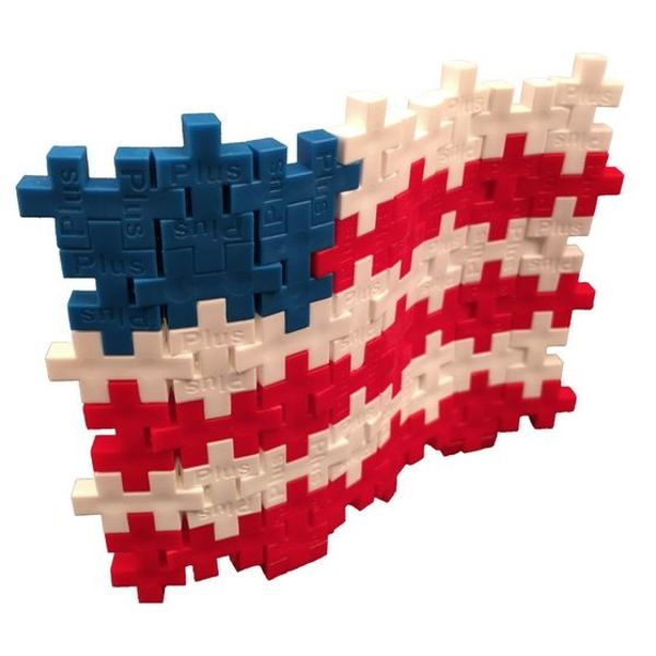 PATRIOTIC PLUS-PLUS TUBE