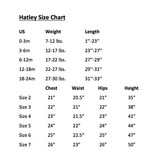 HATLEY ICE CREAM TREATS COVERALLS