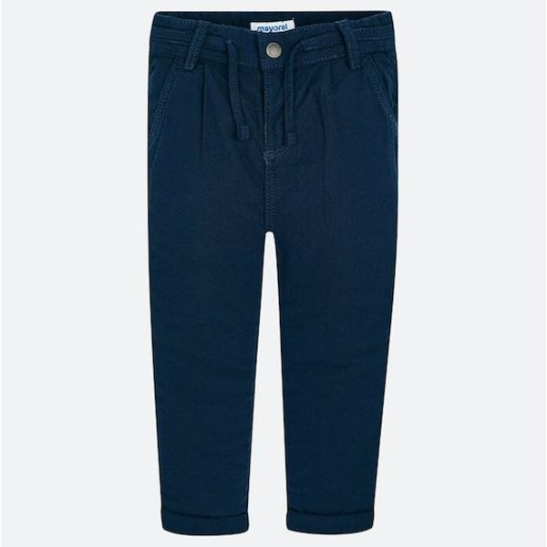 PRESCHOOL BOYS RELAXED CHINO TROUSERS - NAVY