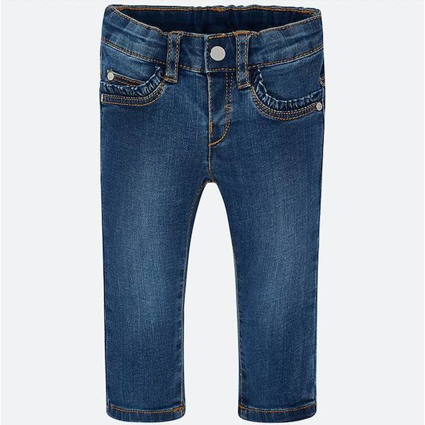 INFANT GIRLS BASIC DENIM JEANS -