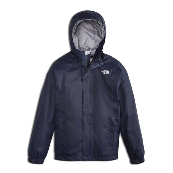 JUNIOR BOYS RESOLVE REFLECTIVE RAIN JACKET - COSMIC BLUE