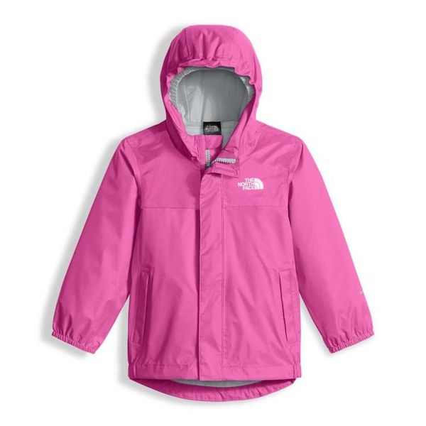 TODDLER GIRL'S TAILOUT RAIN JACKET - GEM PINK