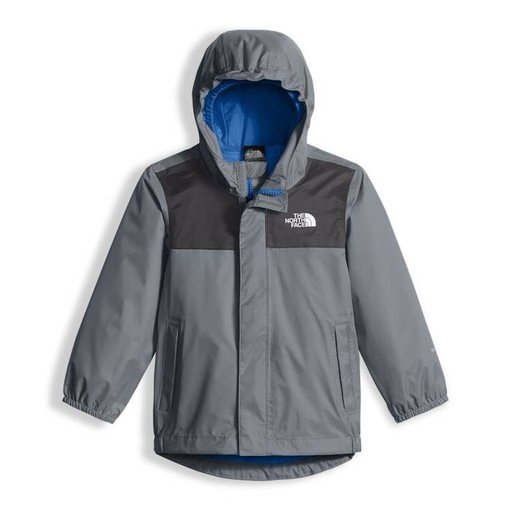 THE NORTH FACE PRESCHOOL BOYS TAILOUT RAIN JACKET - MID GREY