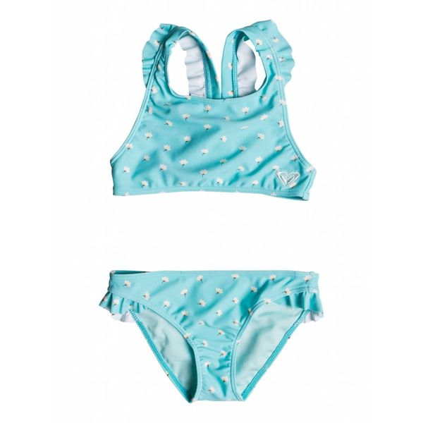 SAGUARO CROP TOP 2P SWIMSUIT - BLUE RADIENCE - SIZE 3 ONLY