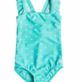 ROXY SAGUARO 1P SWIMSUIT - BLUE RADIENCE - SIZE 3 ONLY