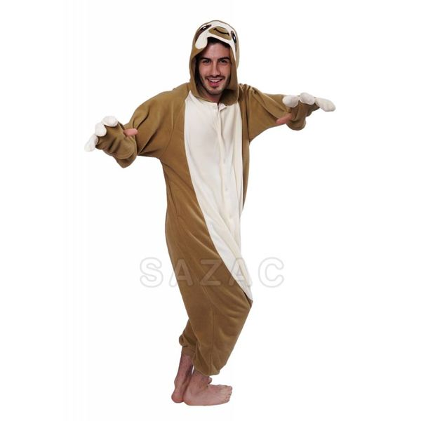 SLOTH ONESIE - ADULT (5FT-6FT)