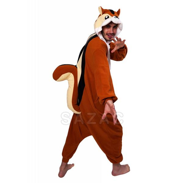 CHIPMUNK ONESIE - ADULT (5FT-6FT)