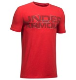 UNDER ARMOUR DUO ARMOUR SHORTSLEEVE TEE - RED