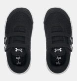 UNDER ARMOUR INFANT ENGAGE 3 SNEAKER - BLACK