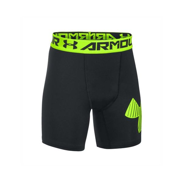 ARMOUR MID SHORT - BLACK