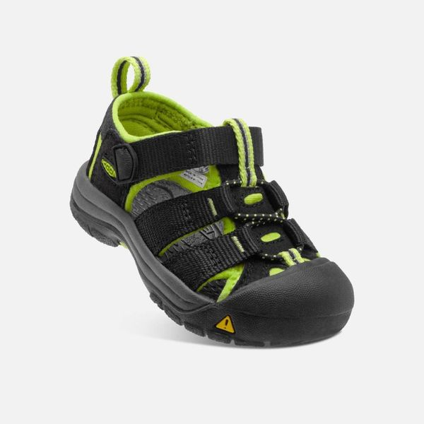 NEWPORT H2 TODDLER - BLACK/LIME -