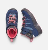 KEEN HIKEPORT WATERPROOF CHILD - BLUES/CORAL