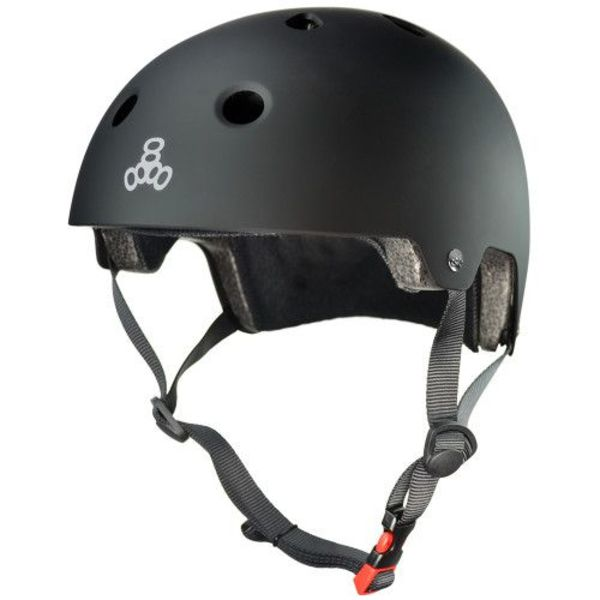 DUAL CERTIFIED MULTI SPORT HELMET - BLACK RUBBER