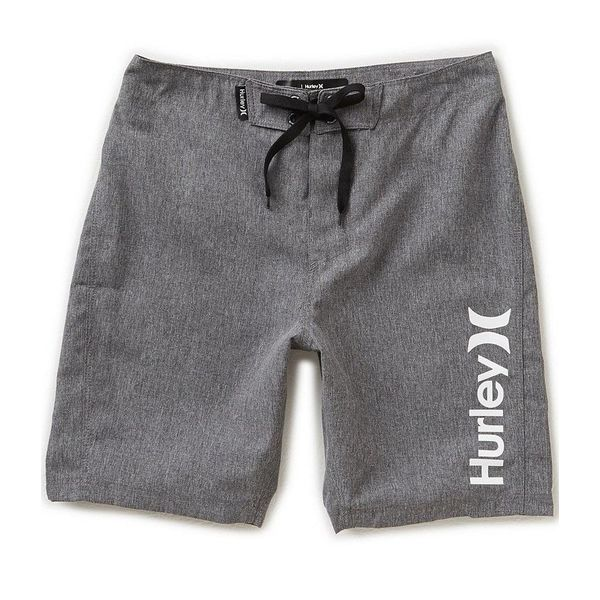 JUNIOR BOYS ONE AND ONLY BOARDSHORT - BLACK HEATHER - SIZE 20 ONLY