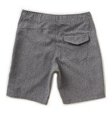 JB ONE AND ONLY BOARDSHORT - BLACK HEATHER