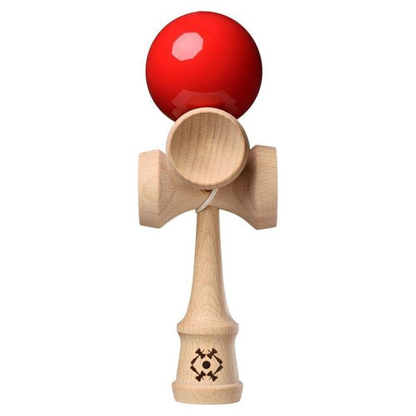 RED TRIBUTE 5-CUP KENDAMA