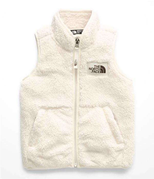 THE NORTH FACE TODDLER GIRLS CAMPSHIRE VEST - VINTAGE WHITE