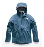 THE NORTH FACE GIRLS DRYZZLE GTX JACKET - BLUE WING TEAL