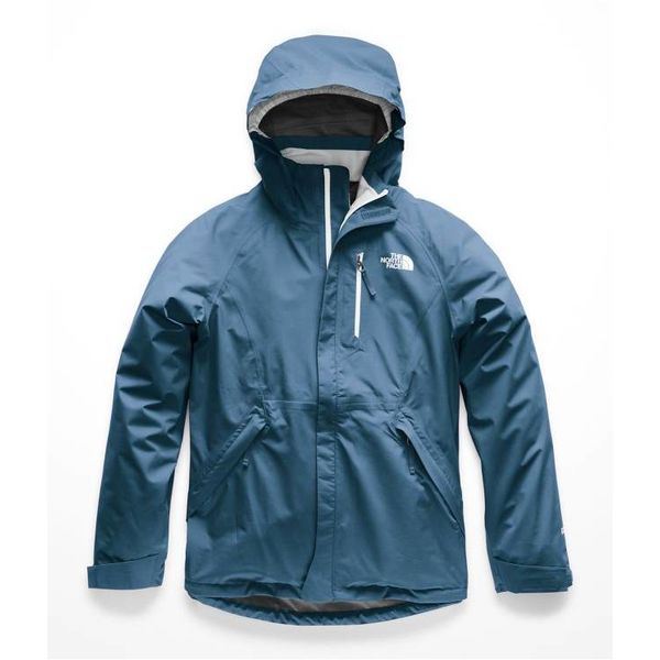 GIRLS DRYZZLE GTX JACKET - BLUE WING TEAL - SIZE SMALL 7/8 ONLY