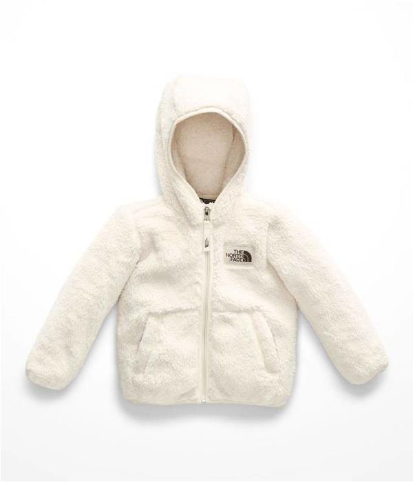 65b1b3f2d62a ... THE NORTH FACE TODDLER GIRLS CAMPSHIRE FULL ZIP JACKET - VINTAGE WHITE  ...