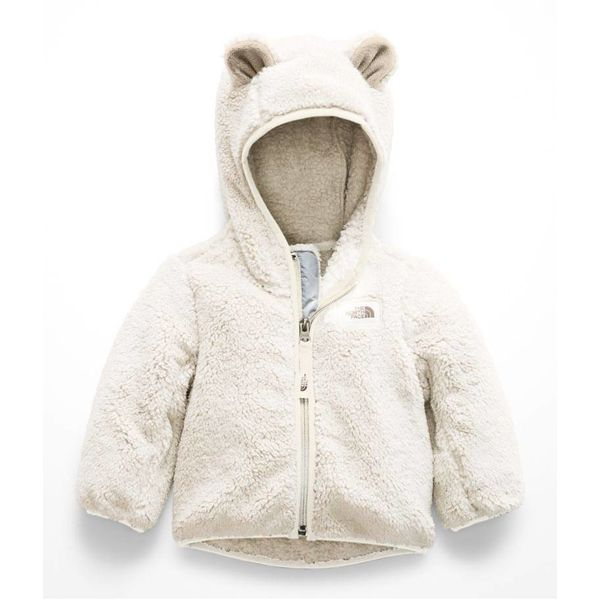 INFANT GIRLS CAMPSHIRE BEAR HOODIE - VINTAGE WHITE