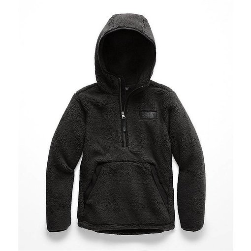 THE NORTH FACE BOYS CAMPSHIRE PULLOVER HOODIE - TNF BLACK