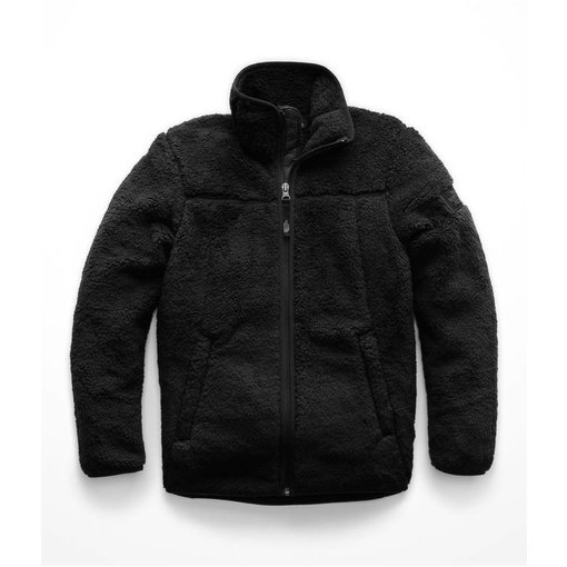 THE NORTH FACE BOYS CAMPSHIRE FULL ZIP JACKET - TNF BLACK