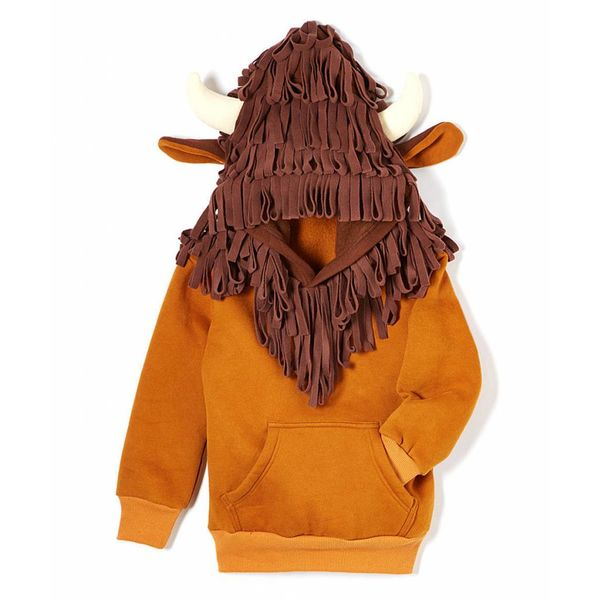 BUFFALO 3D HOODIE - SIZE 2T ONLY