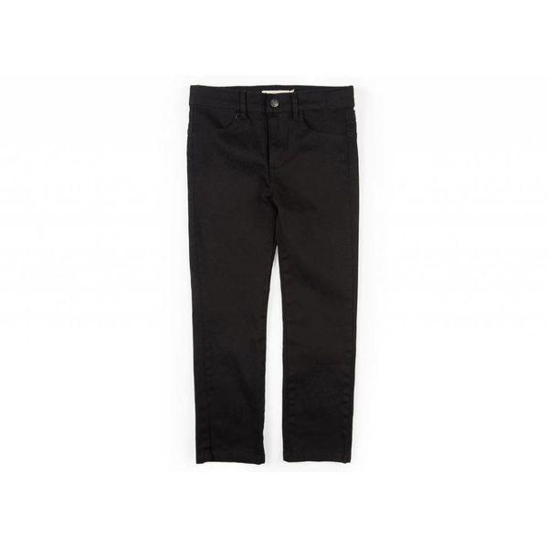SKINNY TWILL PANT - BLACK