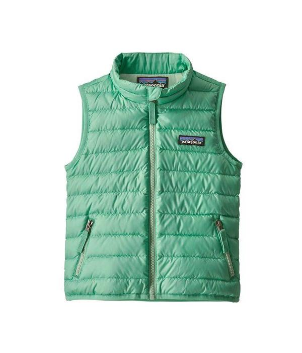 PATAGONIA BABY DOWN SWEATER VEST - VIOSA GREEN