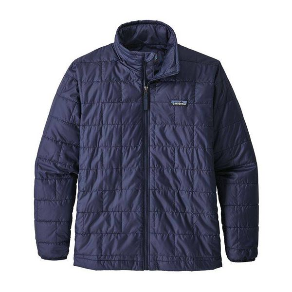 BOYS NANO PUFF JACKET - CLASSIC NAVY