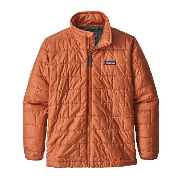 BOYS NANO PUFF JACKET - COPPER ORE