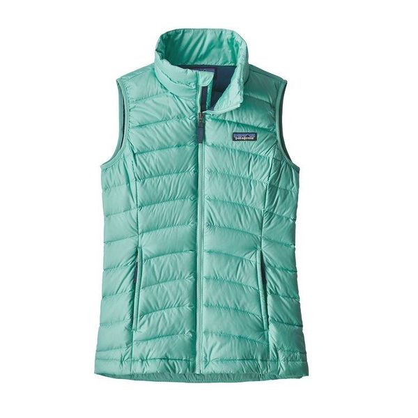 GIRLS DOWN SWEATER VEST - VJOSA GREEN