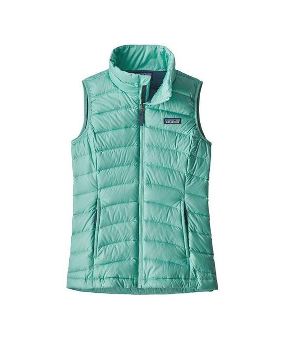 PATAGONIA GIRLS DOWN SWEATER VEST - VJOSA GREEN