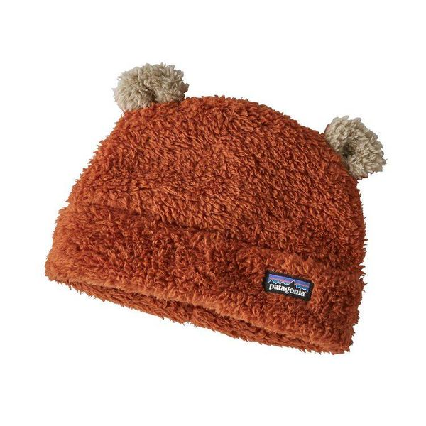 BABY FURRY FRIENDS HAT - COPPER ORE