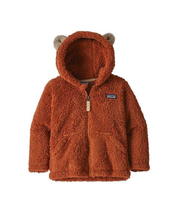 PATAGONIA BABY FURRY FRIENDS HOODY - COPPER ORE