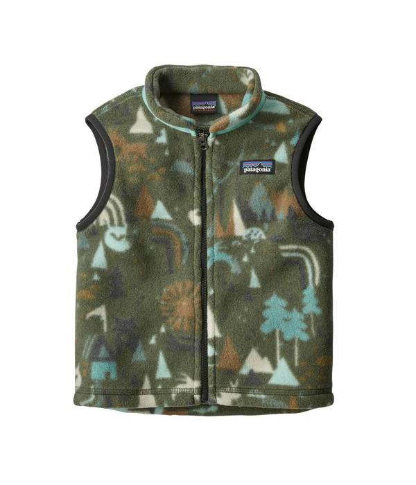 PATAGONIA BABY SYNCHILLA VEST - INDUSTRAL GREEN