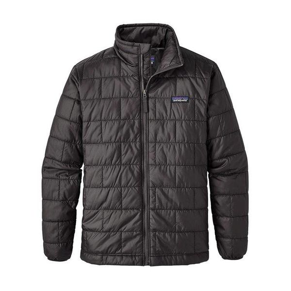 BOYS NANO PUFF JACKET - BLACK