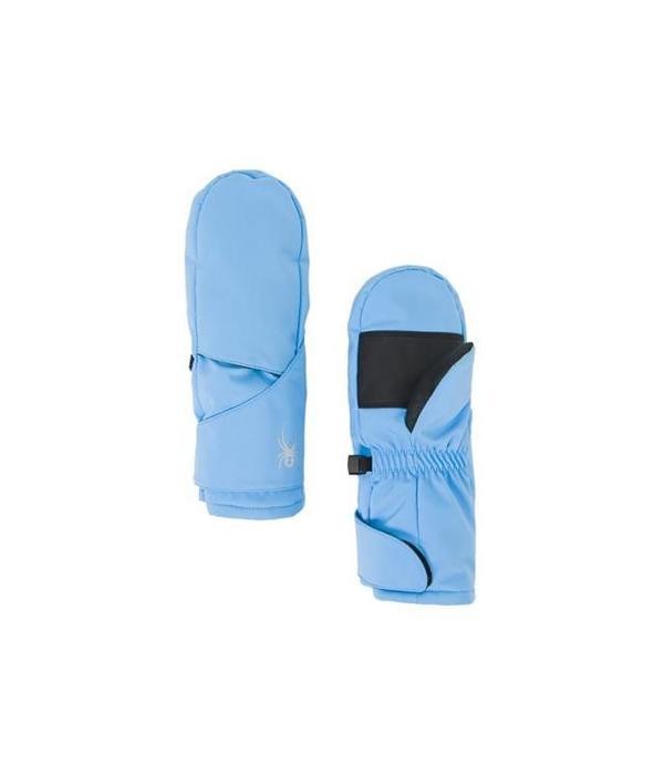 SPYDER BITSY CUBBY MITTEN - BLUE ICE
