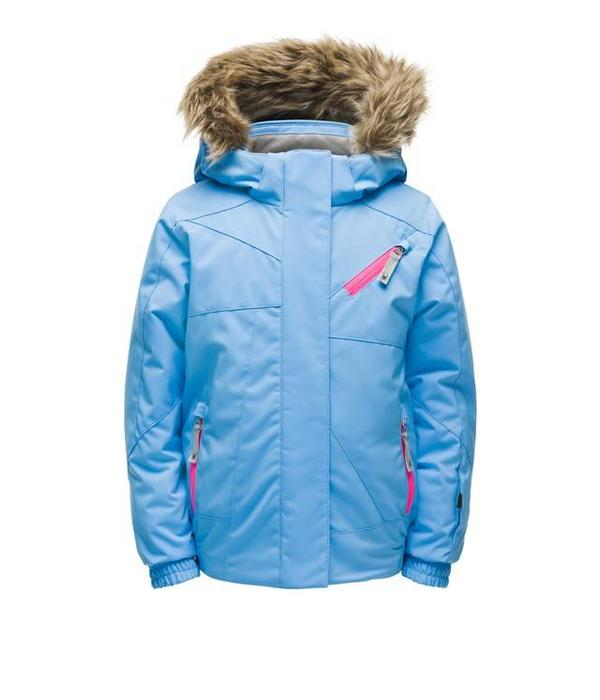 SPYDER BITSY LOLA JACKET - BLUE ICE