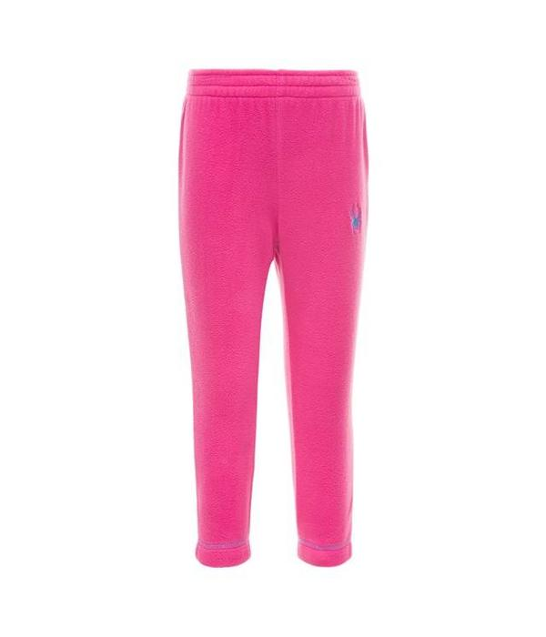 SPYDER BITSY SPEED FLEECE PANT - TAFFY PINK