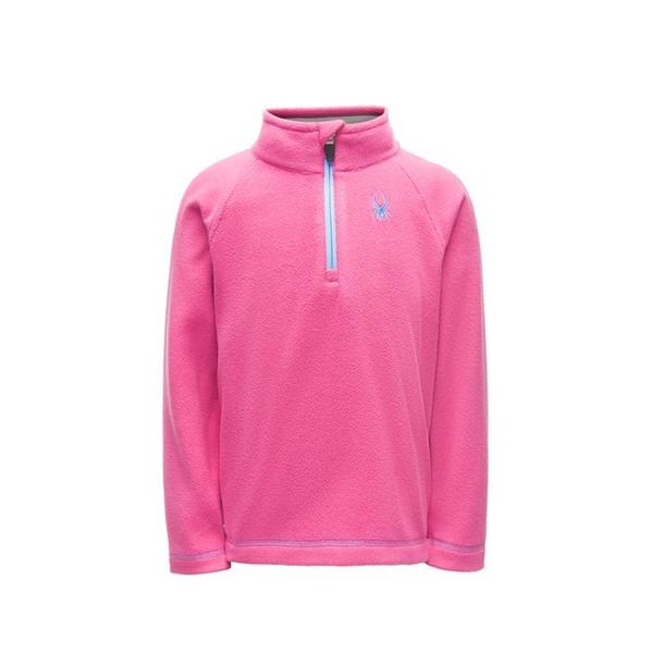 BITSY SPEED FLEECE TOP - TAFFY PINK