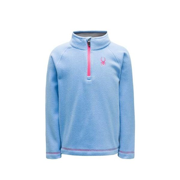 BITSY SPEED FLEECE TOP - BLUE ICE
